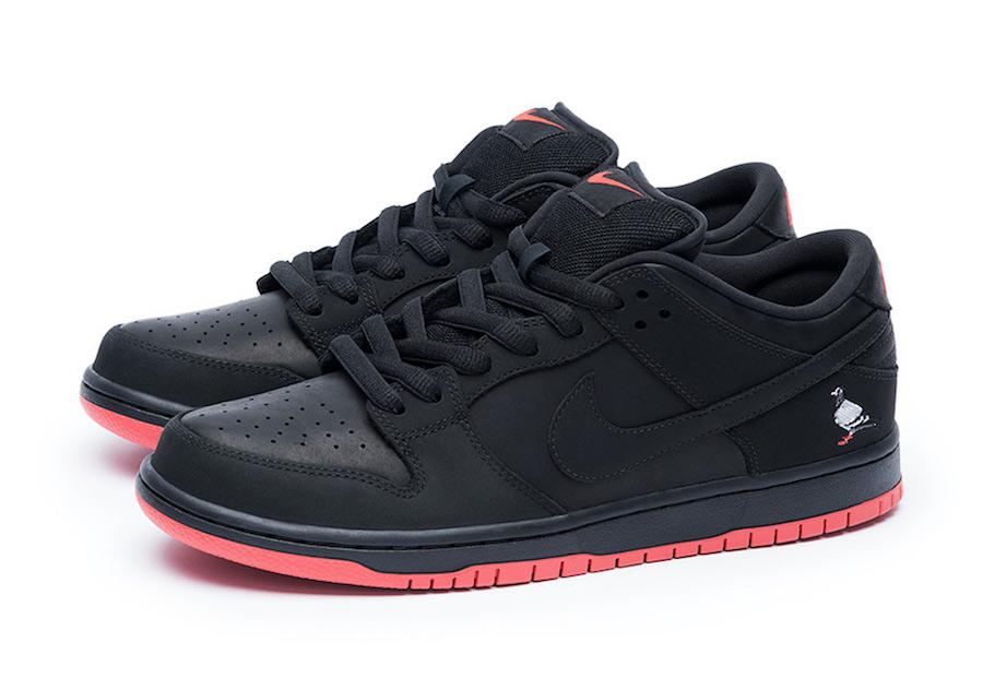 "新品上市!Nike SB DUNK LOW ""Black Pigeon"""