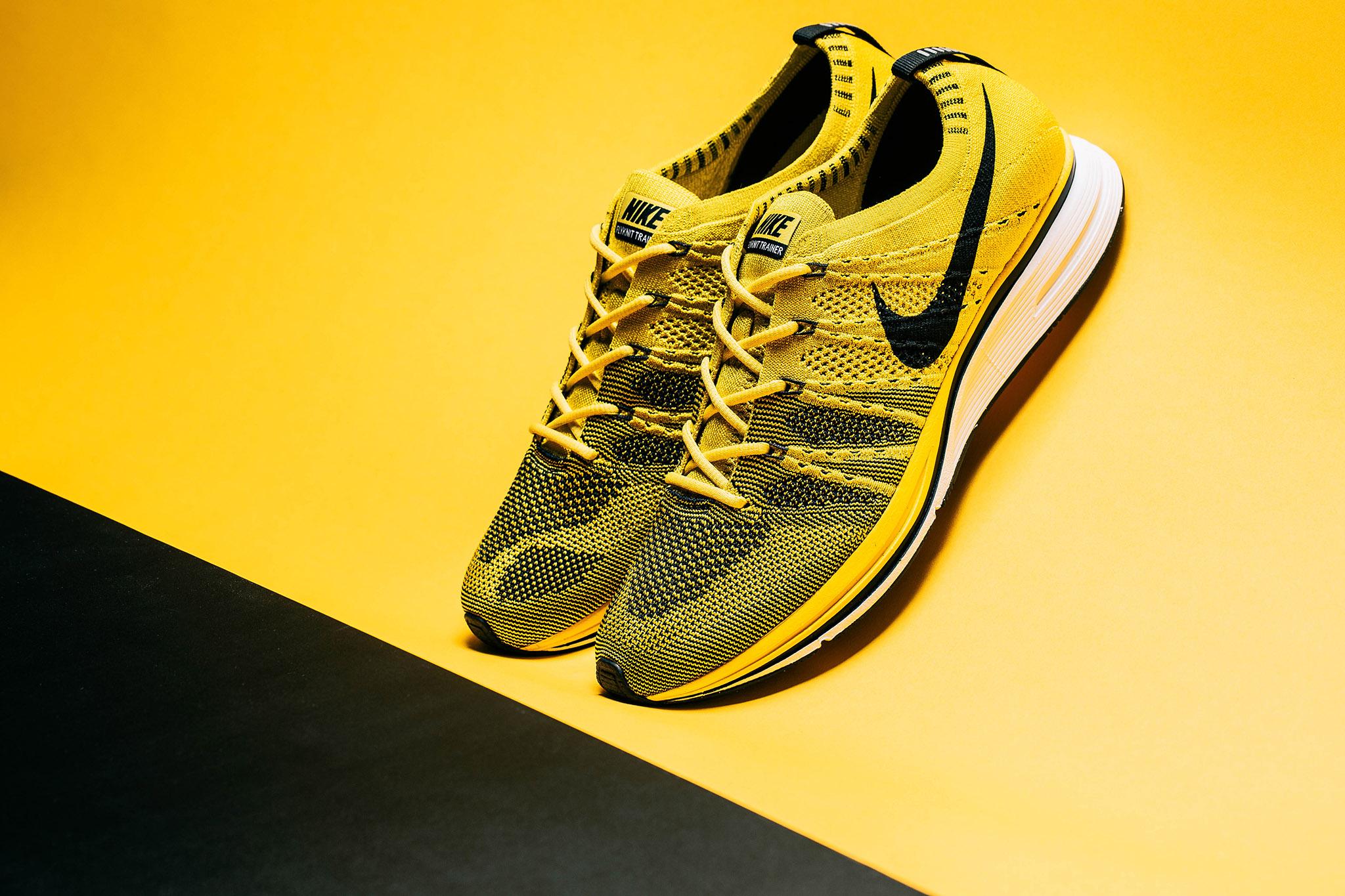 """新品上市!Nike FLYKNIT TRAINER """"Bright Citron"""""""